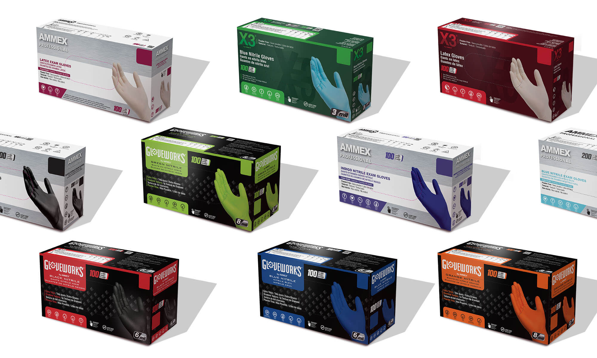 AMMEX's new packaging will begin to make its debut in February 2021.